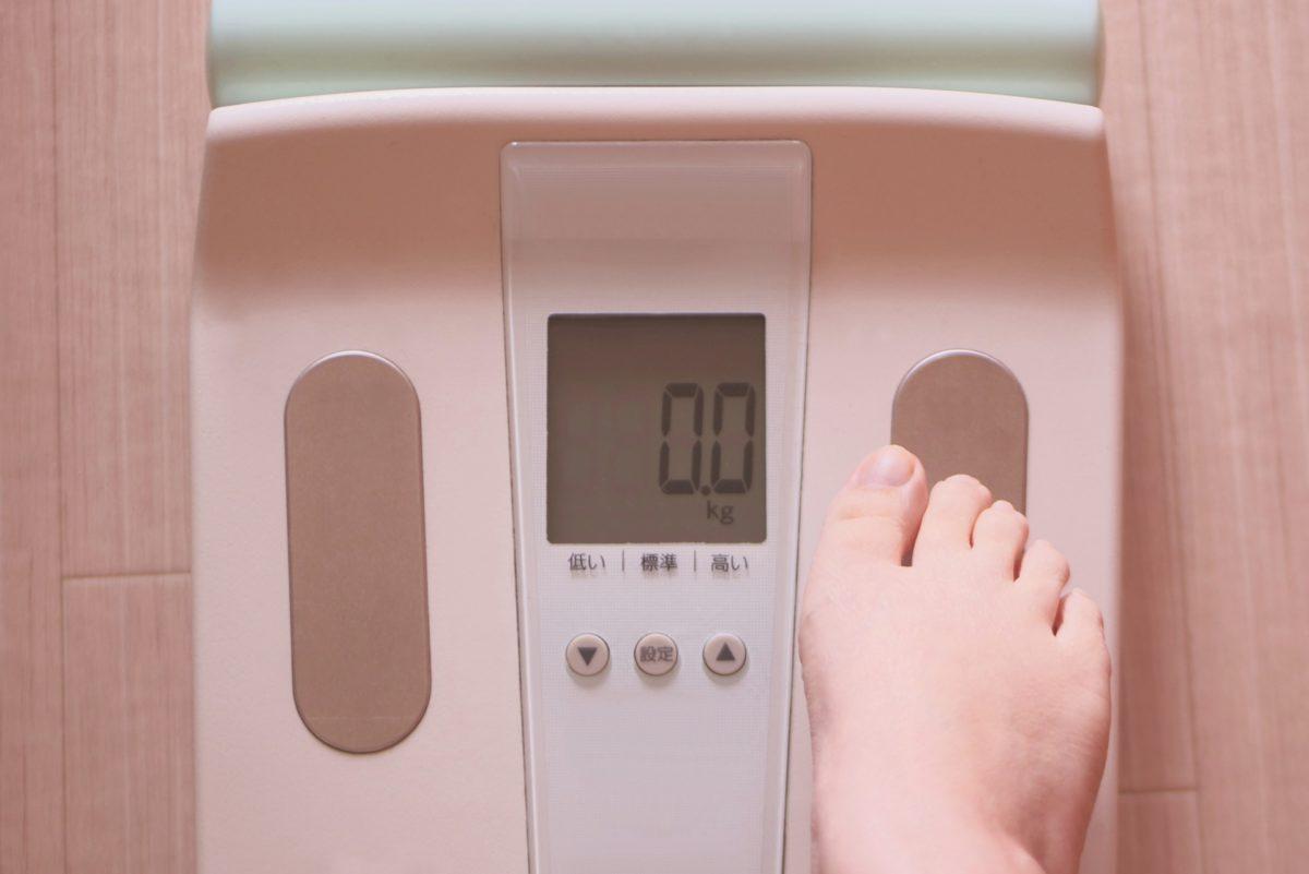 食前と食後の体重変化についてをご紹介します!