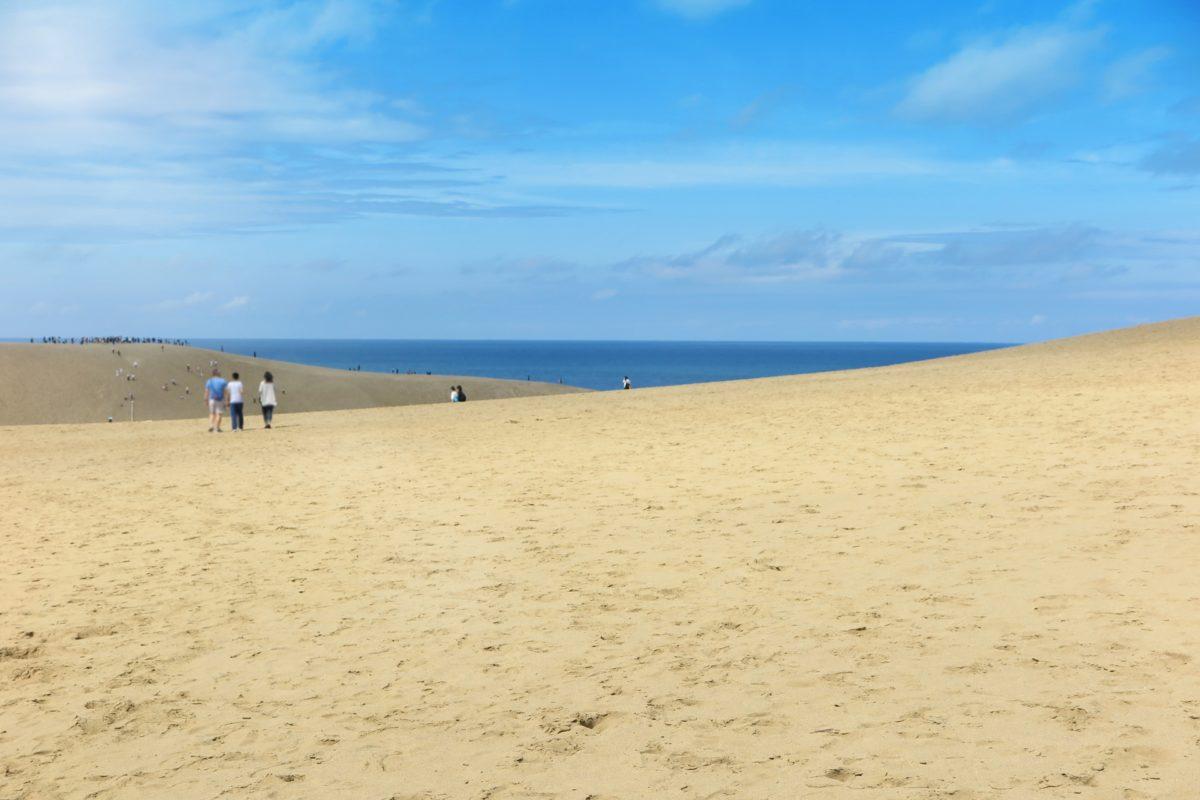 鳥取砂丘に行くときの服装とは?冬はやっぱり防寒対策