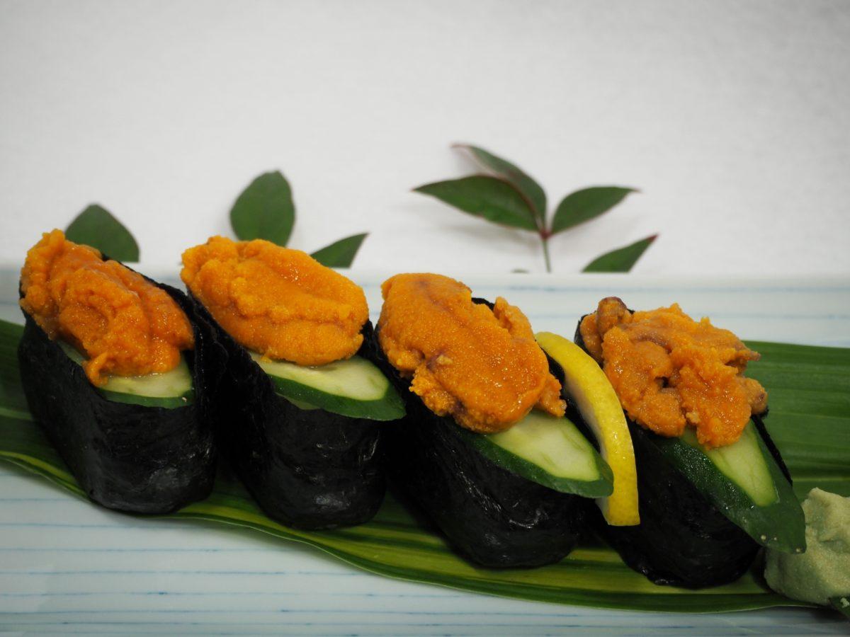 軍艦のお寿司の作り方。海苔の切り方や巻き方やはがれないコツ